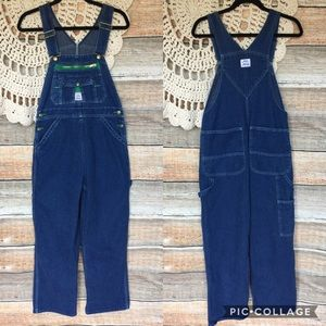 Vintage Lady Liberty Wide Leg Overalls